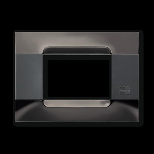 SIMON URMET - 10903.82 Black Nickel Steel Polychrome Gloss Metal Kadra