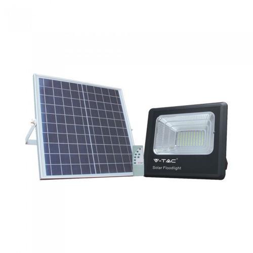 V-TAC - 20W LED Прожектор с Фотоволтаичен Панел 4000К SKU: 8575 VT-60W