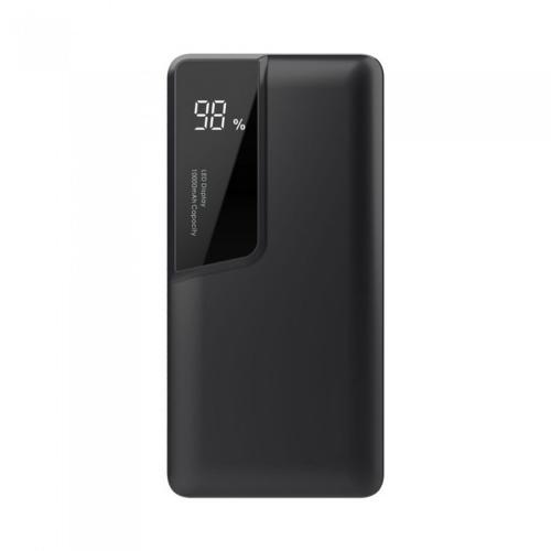 V-TAC - 10000 mAh Външна Батерия Дисплей USB Тип C Черна SKU: 8869 VT-3511