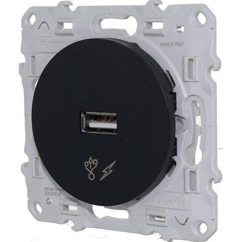 SCHNEIDER ELECTRIC - S540408 USB зарядно устройство Odace антрацит