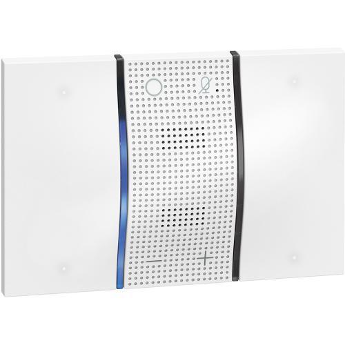 BTICINO - Гласов контрол с  вграден Amazon Alexa 3мод. бяло KW8013 Living Now Smart