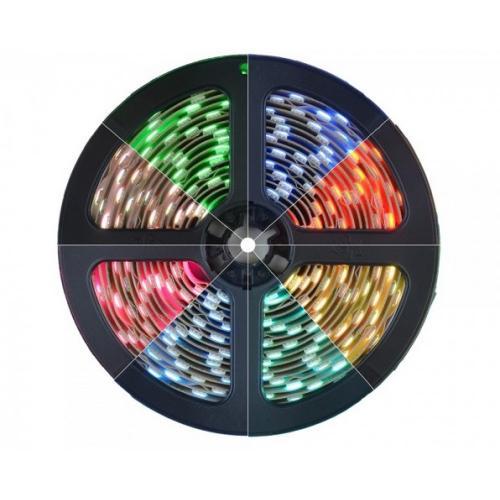 ULTRALUX - PN5060RGB LED лента SMD5050, 14.4W/m RGB, 24V DC, 60LEDs/m, 5m, неводоустойчива