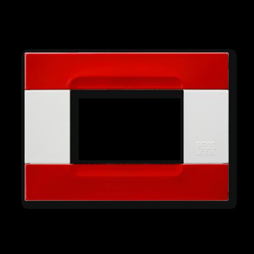 SIMON URMET - 10903.B.58 Red Orione Polychrome Metal Kadra
