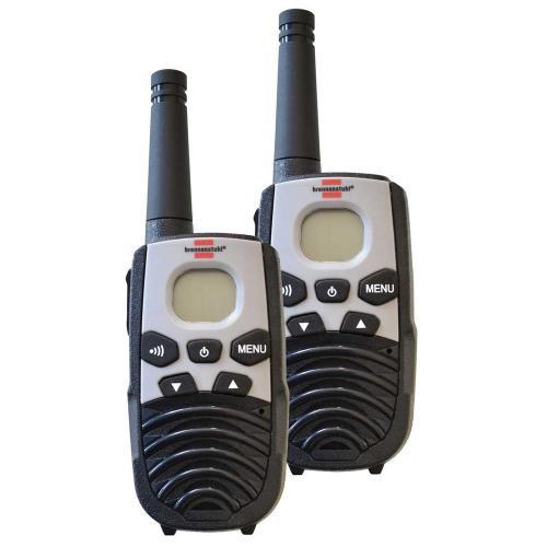 BRENNENSTUHL - Радиостанции комплект, PMR Walkie Talkie, TRX 3500l, 8xAAA, 5km, 1290940