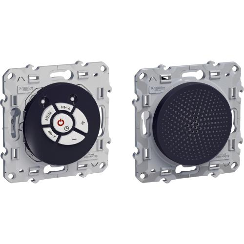 SCHNEIDER ELECTRIC - S540583 FM тунер с високоговорител Odace антрацит