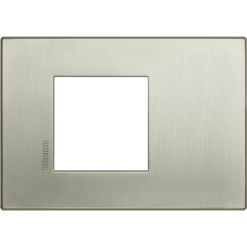 BTICINO - HW4819TIS Рамка 2М драскан титан Axolute Air