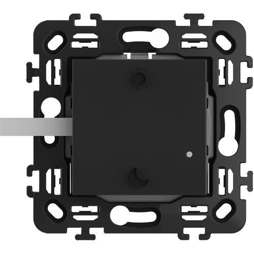 BTICINO - RG4574CW Сценариен ключ Smart събуждане/заспиване БЕЗжичен с 2 мод. носеща рамка цвят Черен Classia Bticino с Netatmo