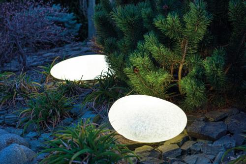 KANLUX - Декоративно градински тяло камък със сменяем източник на светлина STONO IS 63 IP65  24656