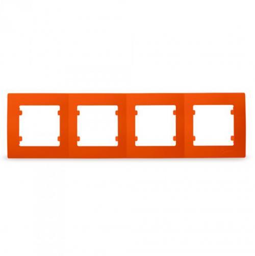 MAKEL - Четворна рамка оранжева Lillium Natural Kare 32094704