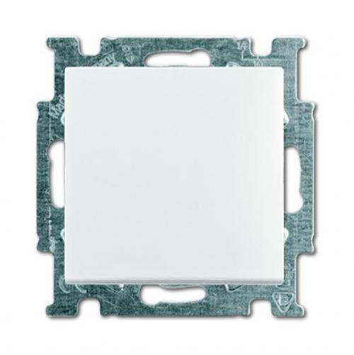 ABB - Ключ девиаторен СХ.6 ABB Basic55 бял 1012-0-2142