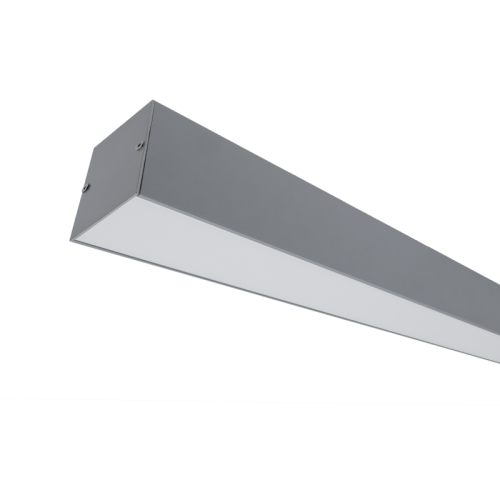 ELMARK - LED ПРОФИЛ ЗА ОТКРИТ МОНТАЖ S36 50W 4000K СИВ 99SM36S4050/GR