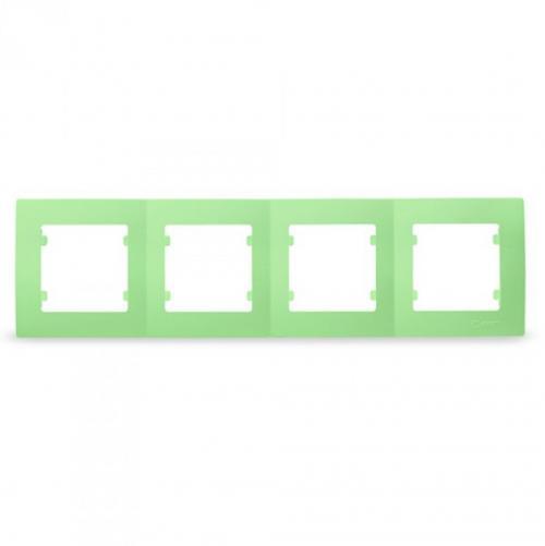 MAKEL - Четворна рамка зелена Lillium Natural Kare 32091704