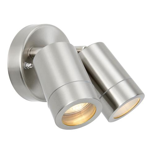 SAXBY - spot ATLANTIS 73446 wall IP65  LED 2X7W, GU10