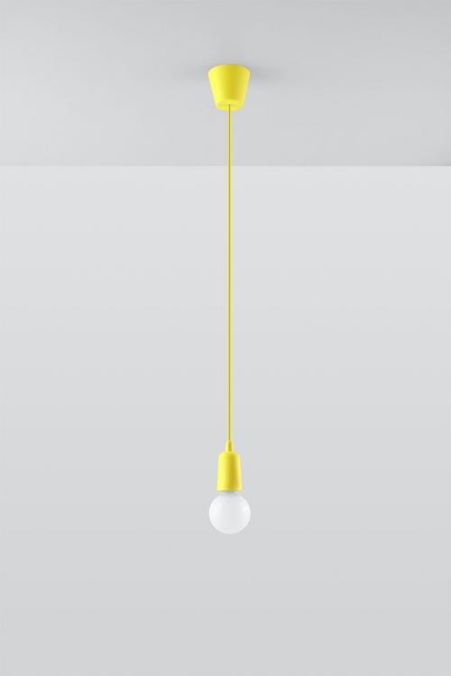 SOLLUX - Пендел  DIEGO 1 yellow  SL.0578