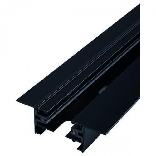 NOWODVORSKI - Профилна релса 2м PROFILE RECESSED TRACK BLACK 2M 9015