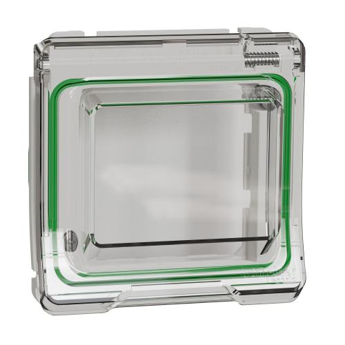 SCHNEIDER ELECTRIC -  MUR39106 Mureva Styl - box cover with lid for Unica - white