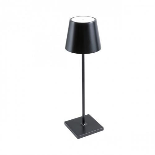 REDO GROUP - Настолна лампа, влагоустойчива GIORGIO 9176   VE LED SMD 2.2W IP54 USB BK 3000K