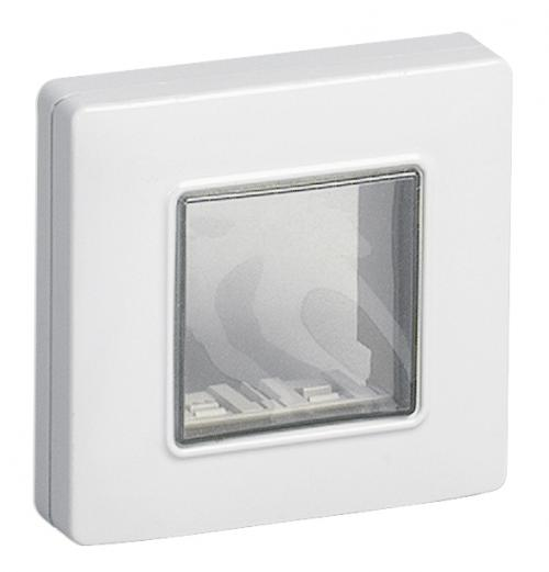 VIMAR - 14932.01 - IP55 cover 2M +screws white