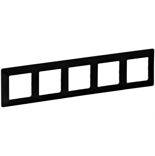 LEGRAND - Петорна рамка Valena Life 754255 черно