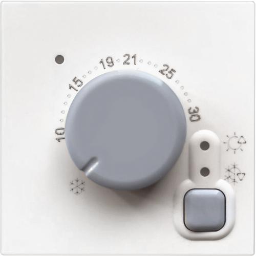BTICINO - RW4441 Електронен стаен термостат 2модула Classia бял