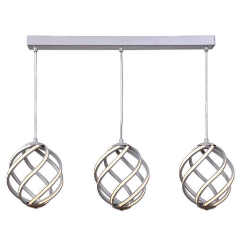 LIS LIGHTING - Пендел Twist 5392 Z-H57 LED 60 W 3870 lm* 230 V, алуминий
