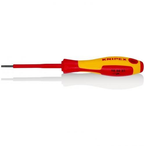 KNIPEX - Screwdriver VDE 1000V 0.4х2.5х75мм 982025