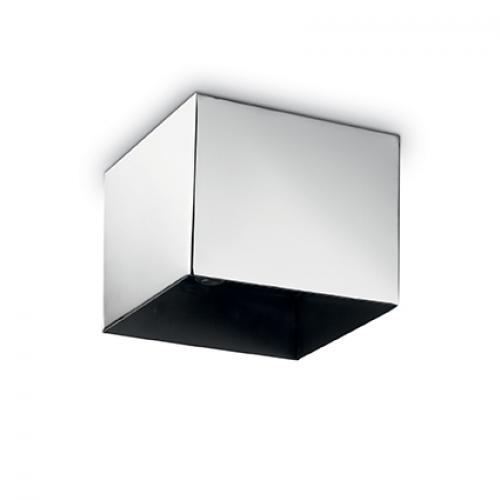 IDEAL LUX - Розетка за таван  ROSONE METALLO 5 LUCI SQUARE Nero 138084