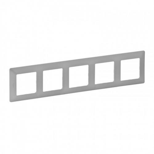 LEGRAND - Петорна рамка Valena Life 754135 алуминий