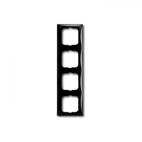 ABB - 2CKA001725A1509 Рамка четворна ABB Basic55 ЧЕРЕН