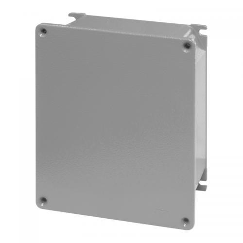 SCAME - Взривозащитена кутия Alubox ЕX 410х315х153мм IP66, плътни стени, Зона 2/22, UV 653.9007