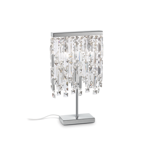 IDEAL LUX - Настолна лампа ELISIR TL2 CROMO 200033