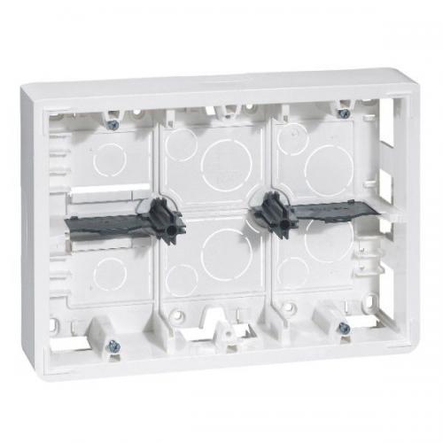 LEGRAND - 80276 Конзола за открит монтаж 2х6/8 мод. Mosaic