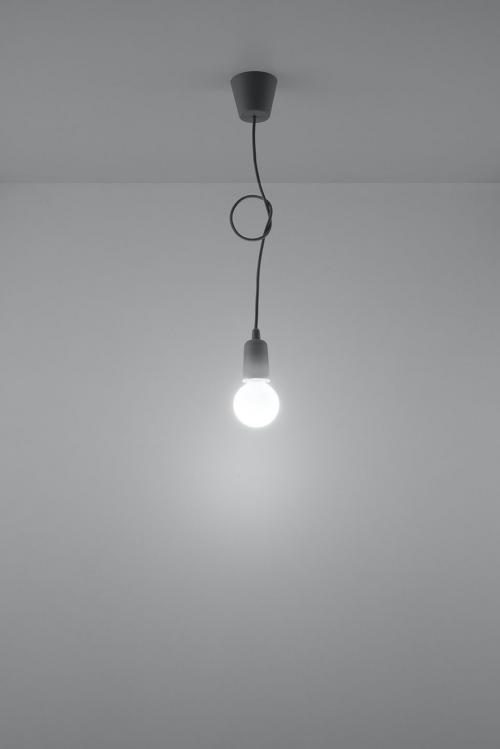 SOLLUX - Пендел  DIEGO 1 grey  SL.0575