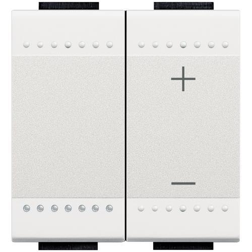 BTICINO - N4411N Универсален бутонен димер Livinglight бяло