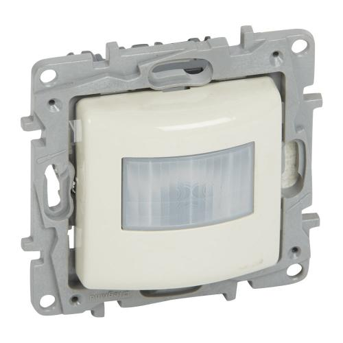 LEGRAND - 764682 Датчик за движение 0-50W LED 0-150VA всички трафове 0-400W 230V (изисква неутрала) NILOE крем