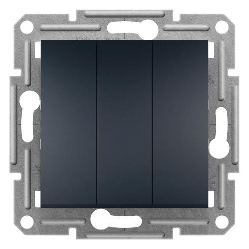 SCHNEIDER ELECTRIC - SDN0300670 Троен ключ Sedna 10А графит