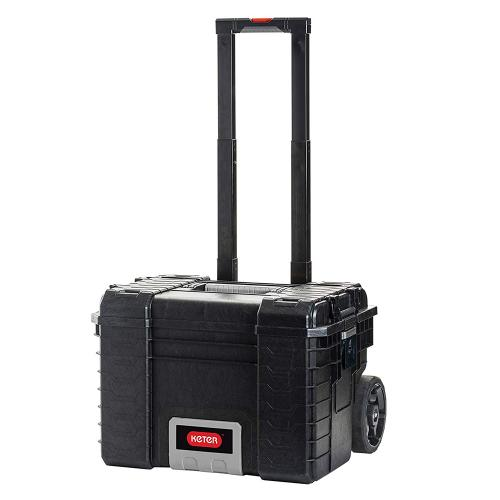 KETER - 17200383 Pro Gear Mobile System Case, Black