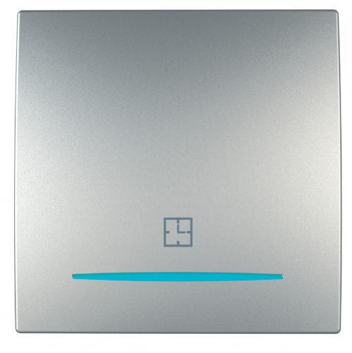 SCHNEIDER ELECTRIC - MGU3.535.30 Ключ с времезакъснение 8А Unica Top алуминий