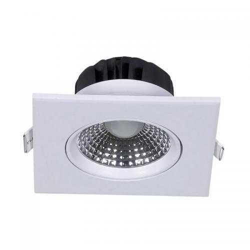 V-TAC - 5W LED Луна Квадратен Модул Ротационна Бяло Тяло 3000K SKU: 7332 VT-1100, 4000K-7333, 6000K-7334