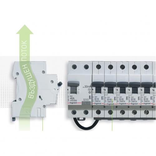 LEGRAND - Автоматичен прекъсвач RX3 1P 25A 6kA Legrand