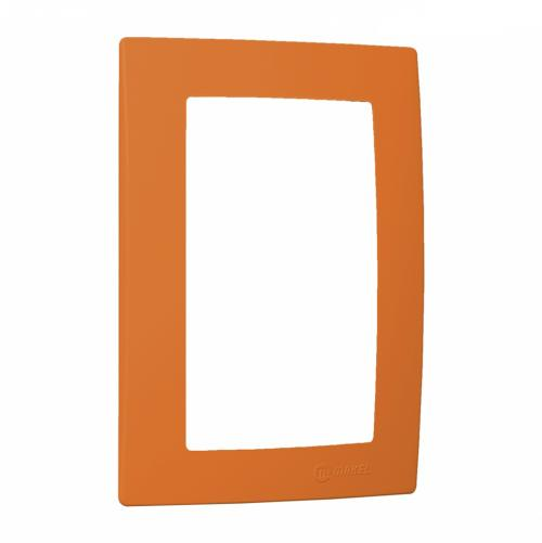 MAKEL - Рамка оранжева за двоен контакт Lillium Natural Kare 32094710