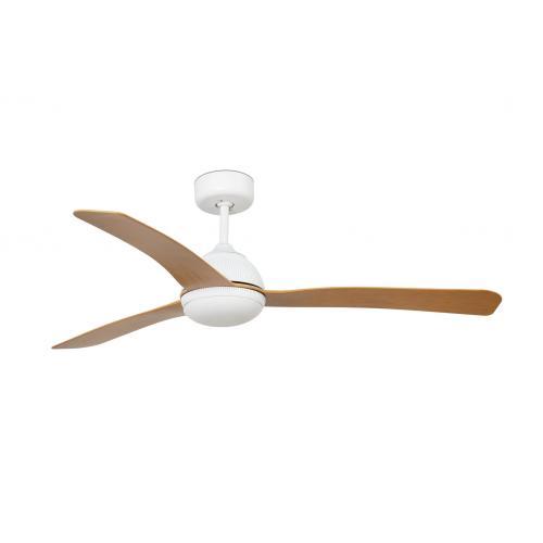 FARO - Таванен вентилатор с осветление GRID 33341WP-2
