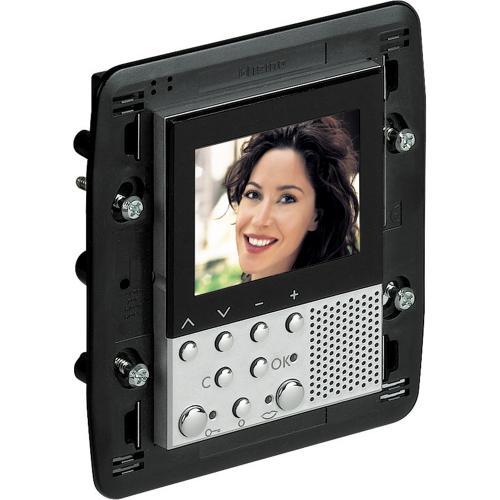 BTICINO - 349311 Видео дисплей 2,5 LCD за скрит монтаж Axolute