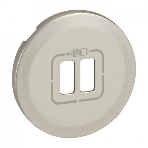 LEGRAND - Лицев панел за USB контакт Celiane  68556 титан
