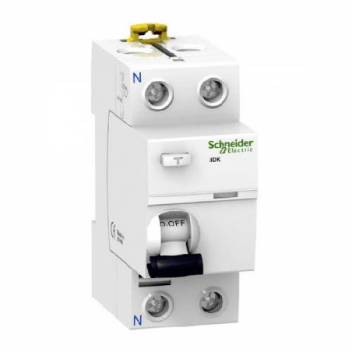 SCHNEIDER ELECTRIC - Дефектнотокова защита iID K 2P 25A 30mA клас AC A9R50225