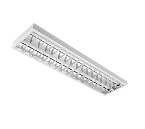 INTO - Recessed mounted luminaire fluorescent T8 2*36W