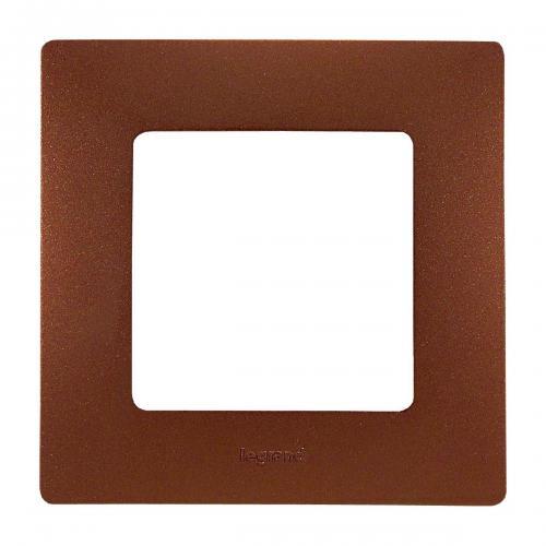 LEGRAND - Единична рамка NILOE 397071 Какао