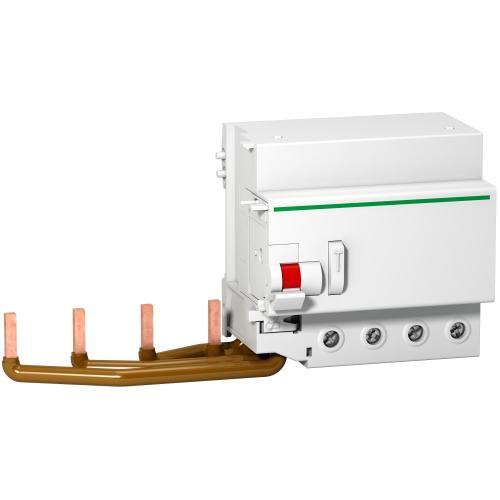 SCHNEIDER ELECTRIC - ДТЗ модул Acti 9 Vigi C120 4P 125A 30mA тип AC 6kA 5 мод. A9N18569