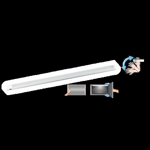COmmel - Осветително тяло LED 9.5W със сензорен ключ 4000K 680lm IP20 940мм дължина Commel 406-503