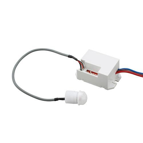 ULTRALUX - SDMP12 Мини сензор за движение, 12-24V DC 60W/120W, 360°, 6м